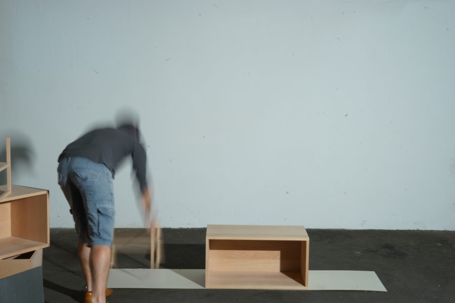 der einfache modulare Aufbau Schritt 2