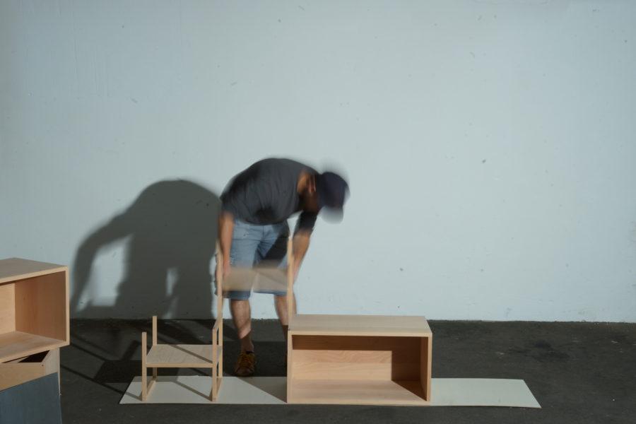 der einfache modulare Aufbau Schritt 3