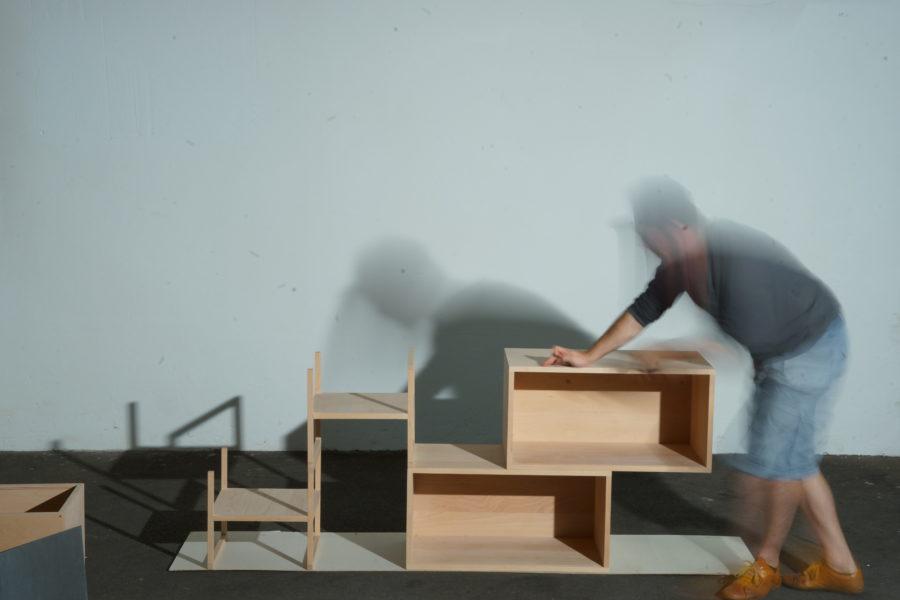 der einfache modulare Aufbau Schritt 4