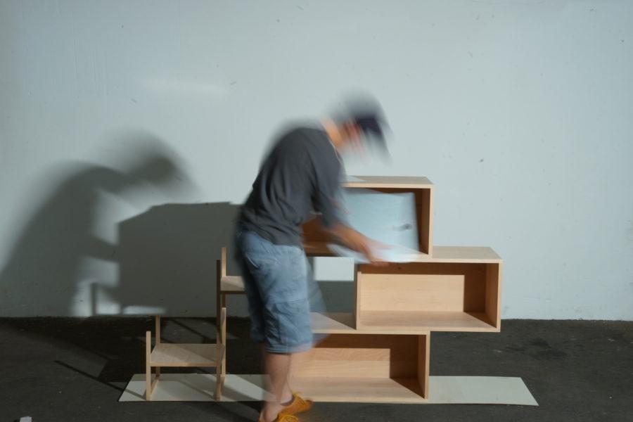 der einfache modulare Aufbau Schritt 6