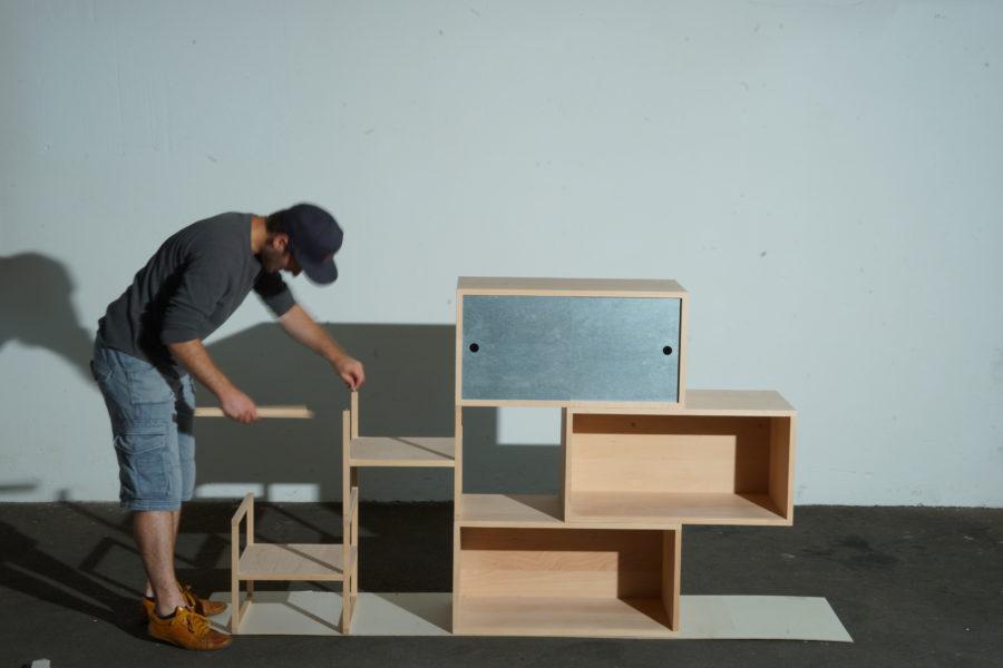 der einfache modulare Aufbau Schritt 7