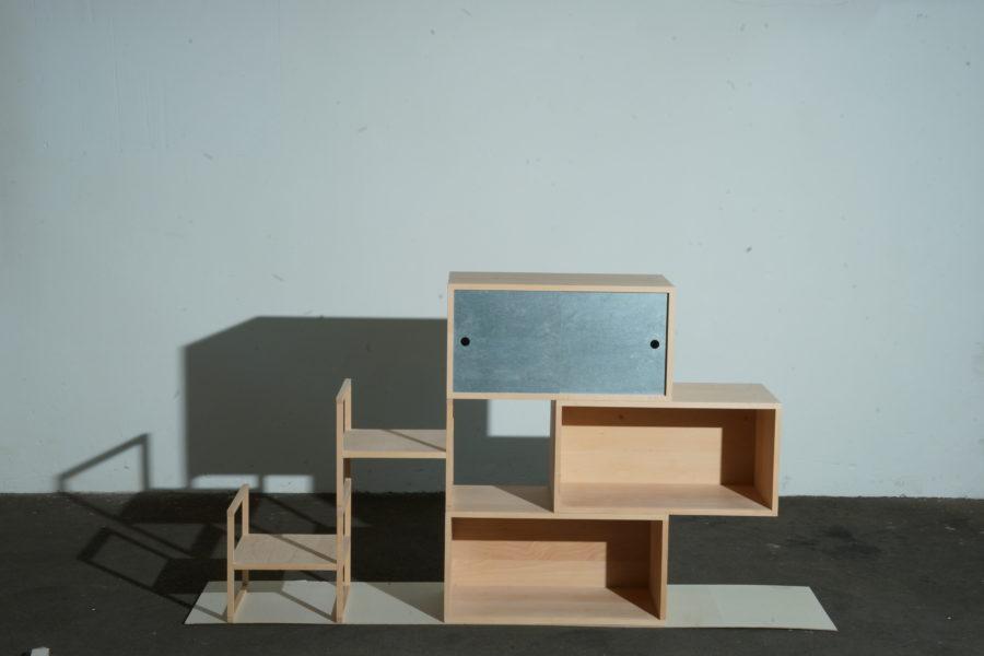 der einfache modulare Aufbau Schritt 8