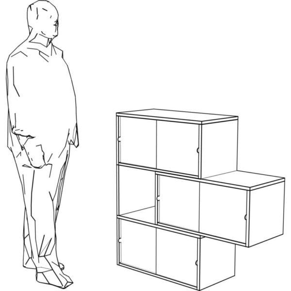 itschi Kommode Balkon Sketch