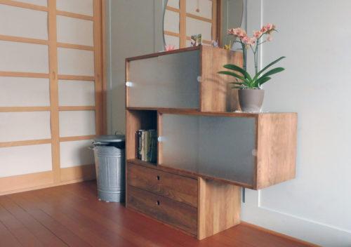 Buchenholz-Möbel von itschi dunkel geölt